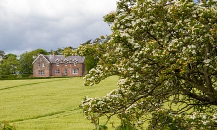 Exterior across fields, Whitehouse Country House