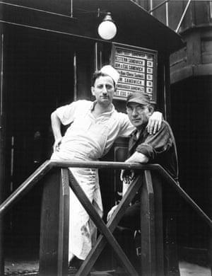 Walker Evans <br>Lunchroom Buddies, New York City, 1931