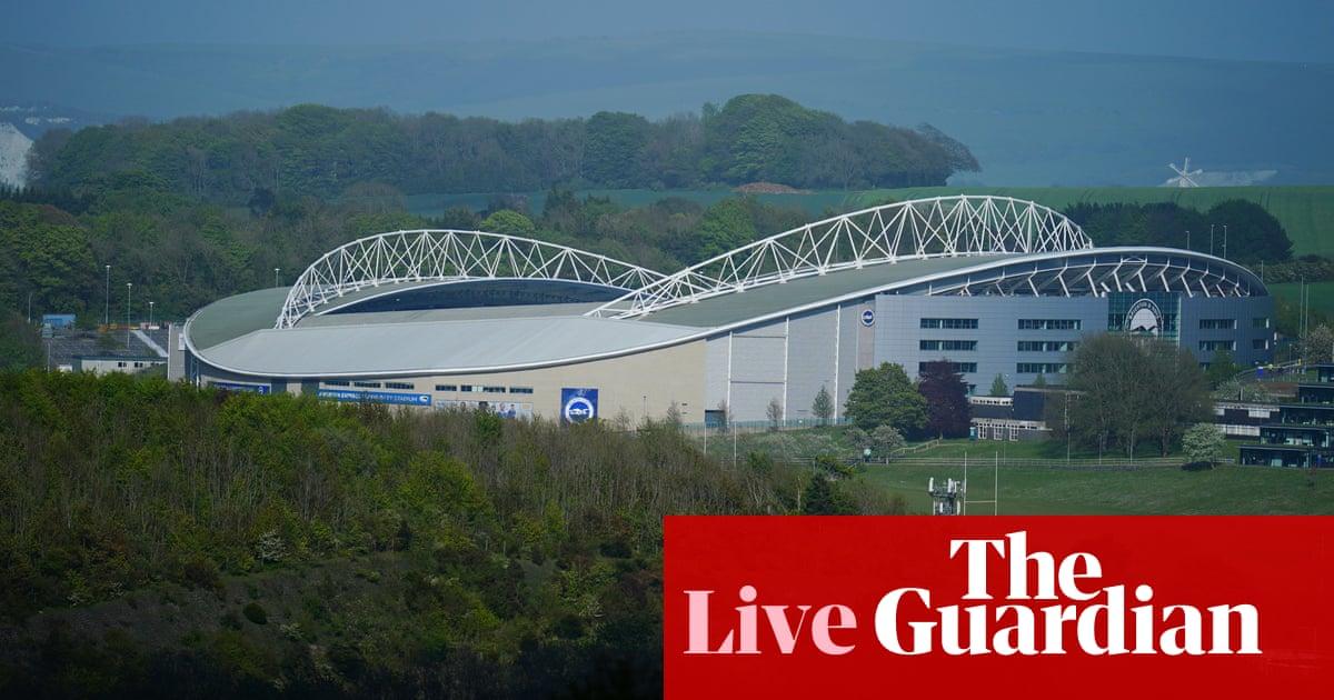 Brighton v Manchester City: Premier League – live!