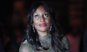 Mo Abudu, who abandoned a high-flying career in the corporate world to run a television studio.