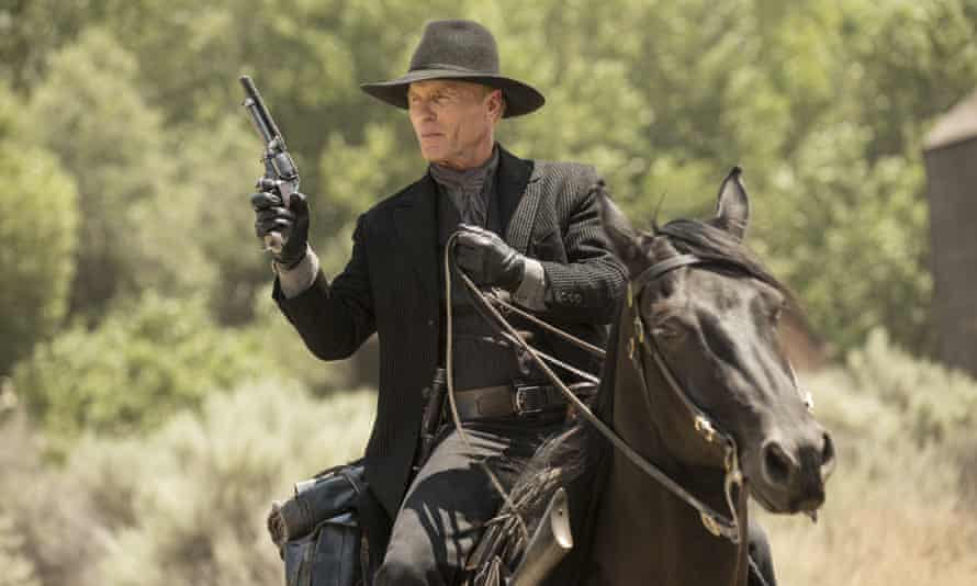 Ed Harris as The Man in Black.