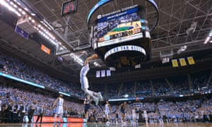 The North Carolina Tar Heels play Notre Dame at the Greensboro Coliseum on Sunday in Greensboro, North Carolina. The state could be deprived of such NCAA events for six years if HB2 is not repealed.