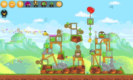 Angry Birds … 'When we tried it out on people, they wouldn't give it back'