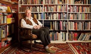 Philip Pullman at home near Oxford