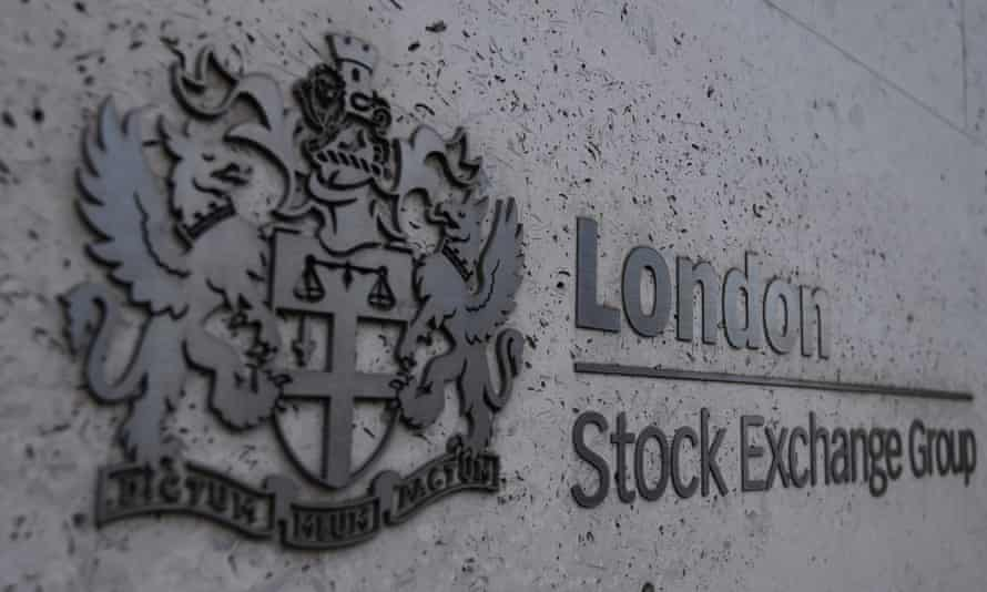 A general view of the London Stock Exchange in London