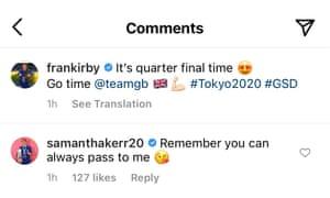 Fran Kirby Instagram.
