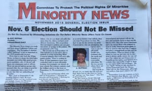 Another clipping from the mailer sent to voters in the upcoming midterm election.