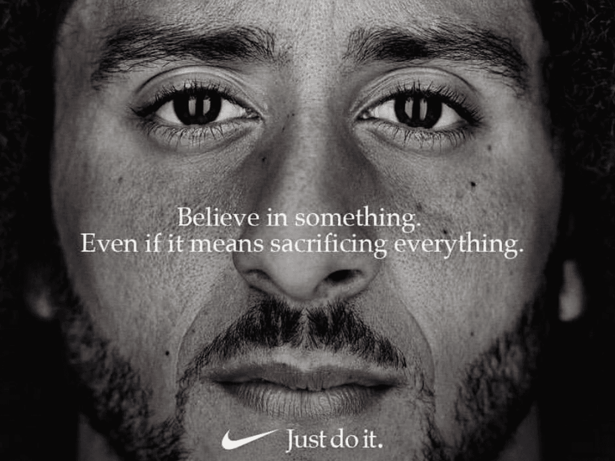 Colin Kaepernick Becomes The Face Of Nike S Just Do It Campaign Sport The Guardian