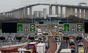 Toll and trouble: Dartford cameras fine drivers for journeys