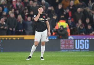 Maguire, not happy.