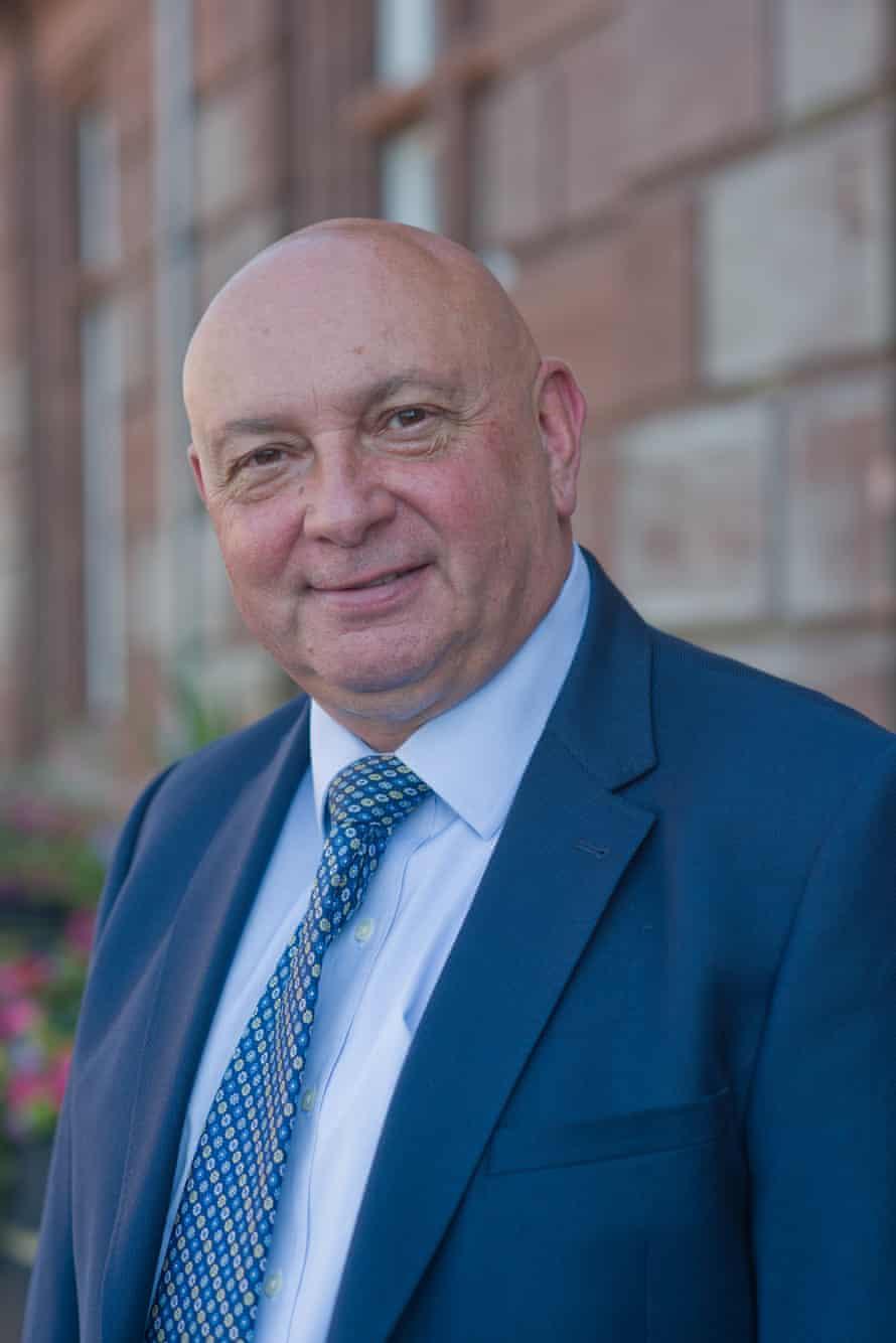 Councillor Carl Smith, leader of Great Yarmouth borough council.