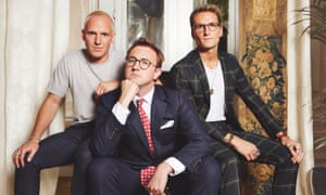 Jamie, Francis and Proudlock in Made in Chelsea.
