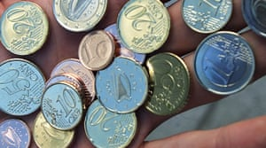 Ireland to cut back on one and two cent coins.