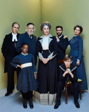 Penelope Wilton, centre, and the cast of Fanny and Alexander.
