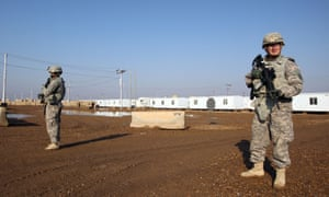 The US attack on a Iran-backed Shia forces in Iraq followed an attack on a US base on Wednesday.