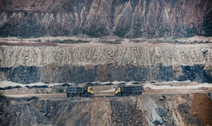 open cut mines in Chhattisgarh