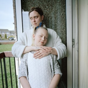 Chick and her daughter Leah / In This Place (2016-17) Chick always wanted a little girl. After she had Leah, she knew she didn't want, or need, any more children. She had her daughter.