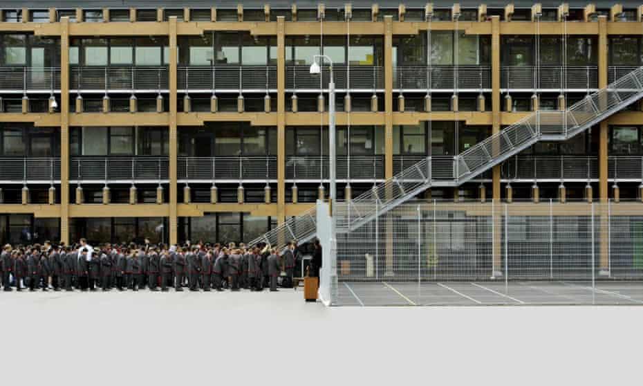 Mossbourne Community academy. Photo by Dan Chung
