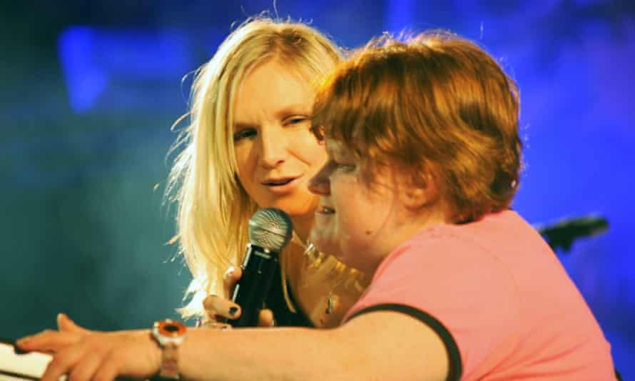 Jo Whiley seen here with her sister Frances