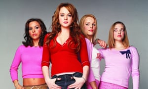 Mean Girls... (from left): Lacey Chabert, Lindsay Lohan, Rachel McAdams and Amanda Seyfried.