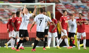 Philipp Wiesinger of LASK celebrates after scoring his sides first goal.