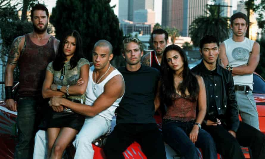 Control of the crew ... the OG gang from 2001's The Fast and the Furious ...