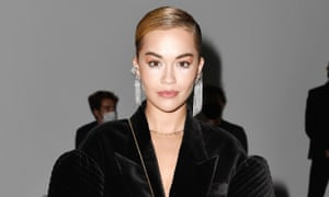 Rita Ora at Milan fashion week