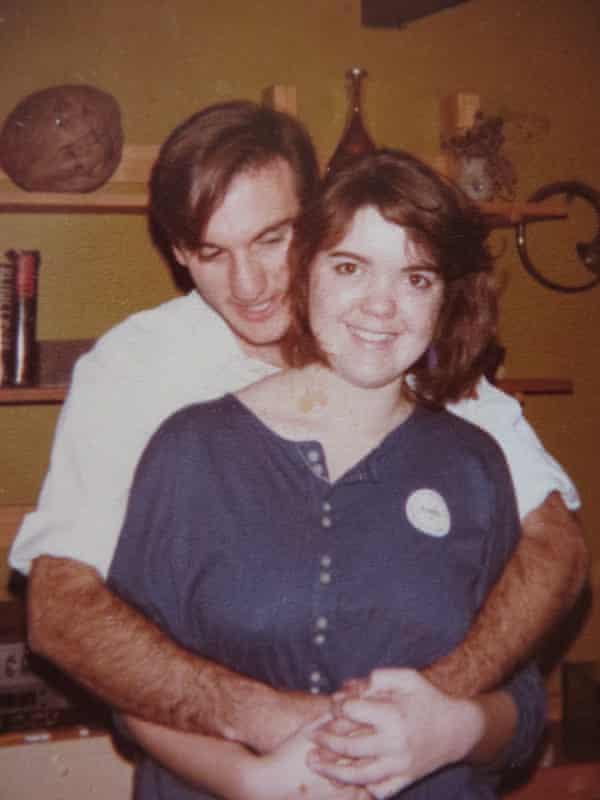 Angela Kitzelman and Don Jarmey on Angela's 19th birthday, 1985