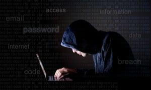 A computer hacker (set per model).
