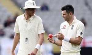 Stuart Broad, left and Jimmy Anderson have been told to expect a rest