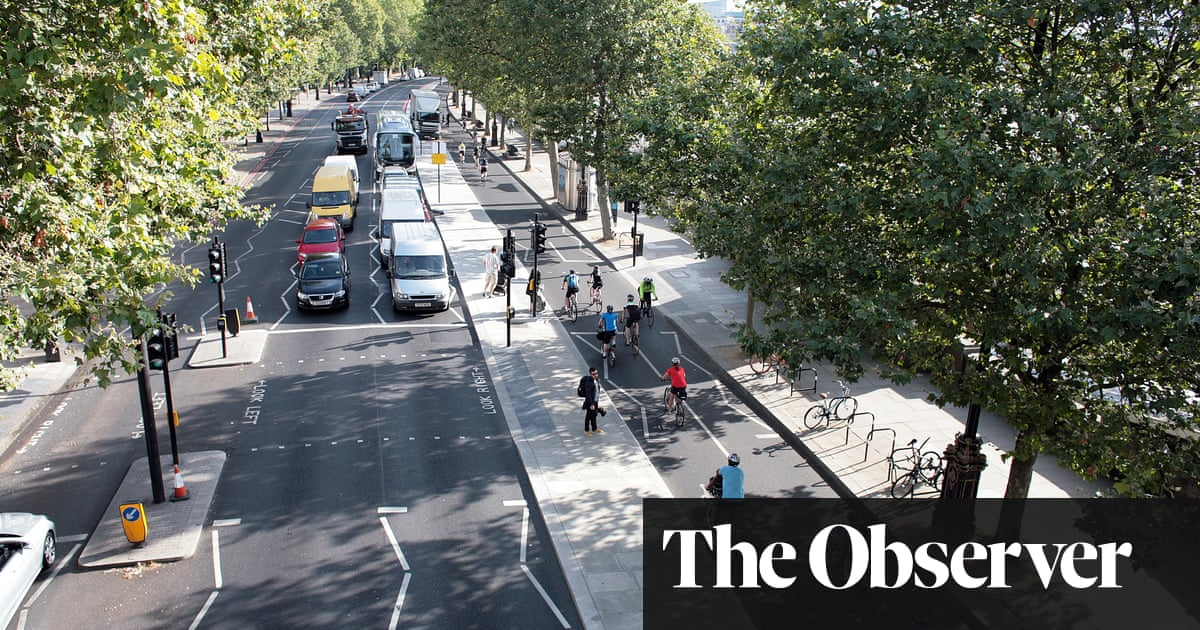 2400cf1c60b Superhighway to cycling heaven – or just a hell of a mess? The Observer