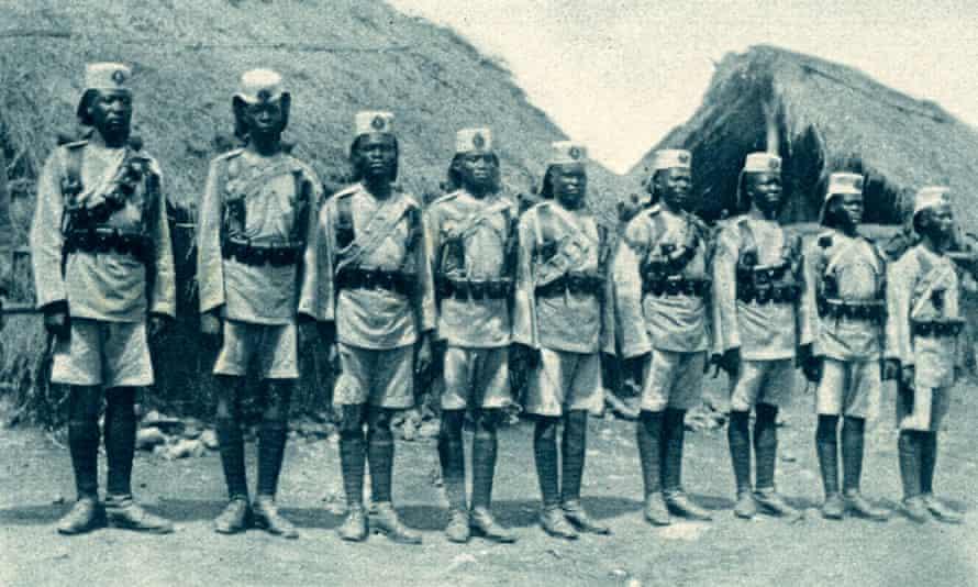 King's African Rifles during World War I.