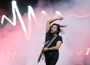 Dave Le'aupepe of Gang Of Youths.