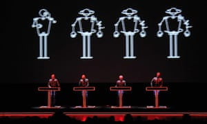 Kraftwerk perform at Tate Modern, London, in 2013.