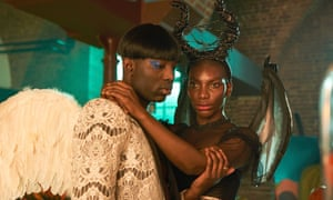 Essiedu, left, with Michaela Coel in I May Destroy You.