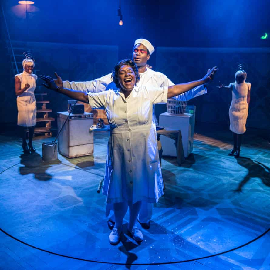 Sharon D Clarke in Caroline, Or Change at the Playhouse, London.