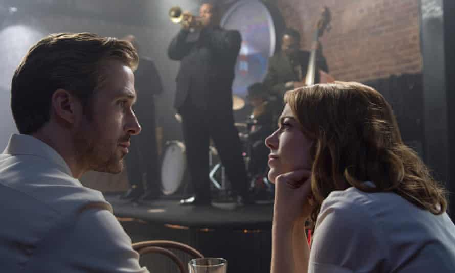 La La Land: Sebastian (Ryan Gosling)and Mia (Emma Stone).