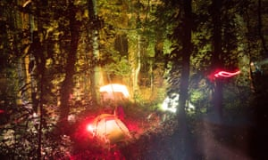 Base Camp in the Mabu forest