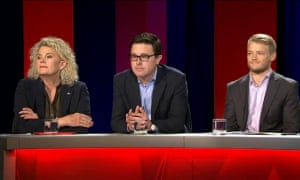 Fiona Simson,  David Littleproud and Matt Sorenson