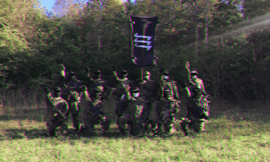 Members of the Base at a gathering.