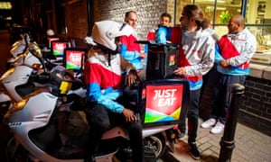Just Eat £5 5bn valuation: online takeaway company now worth more