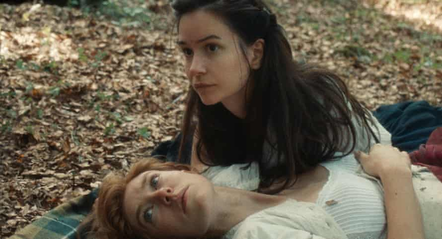 Vanessa Kirby and Katherine Waterston in Mona Fastvold's The World to Come.