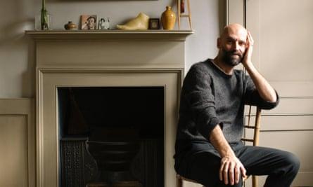 Shades of genius: Pedro da Costa Felgueiras at home in Whitechapel.