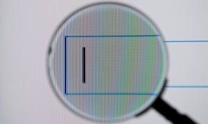 Google Illustration<br>BERLIN, GERMANY - JUNE 02: A magnifying glass is seen in front of a screen on which the Google search engine is displayed on June 02, 2014 in Berlin, Germany. (Photo by Michael Gottschalk/Photothek via Getty Images)