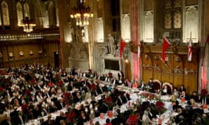 China's President Xi Jinping delivers a speech at the China State Banquet at the Guildhall in London