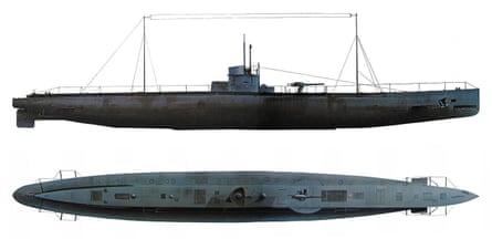 A Type U-31 German U-boat