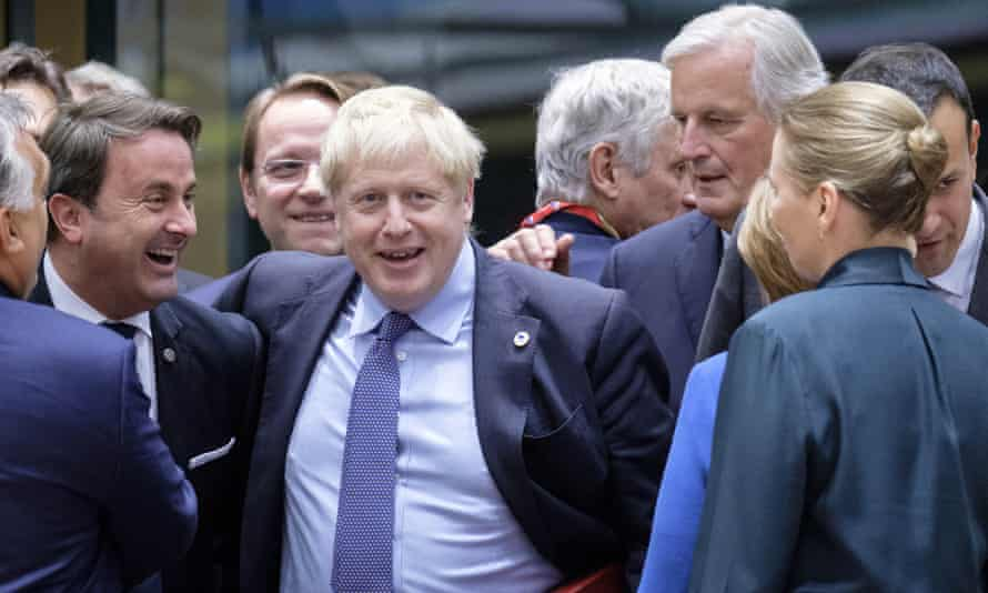 A financial settlement was agreed as part of the divorce deal between the EU and Boris Johnson in October 2019