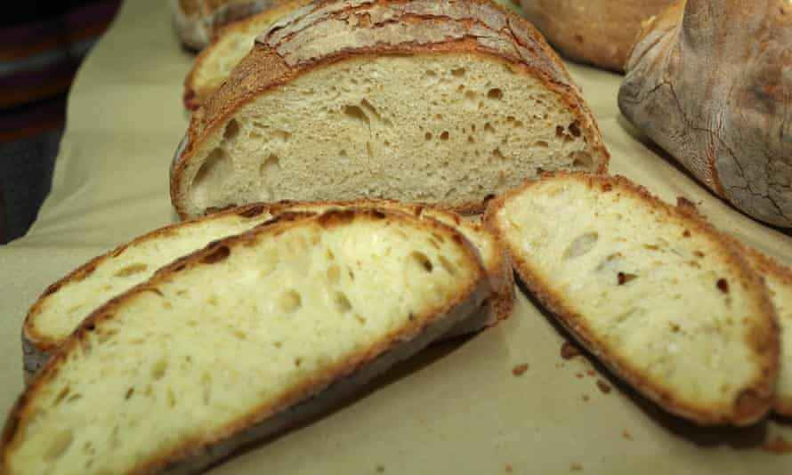 Wood-fired Altamura bread.