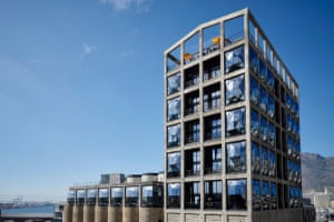 Thomas Heatherwick-designed Silo hotel, which has recently opened in Cape Town