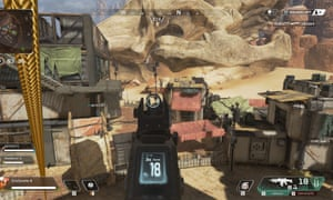 Most of the buildings in Apex Legends are modular and allow easy climbing.